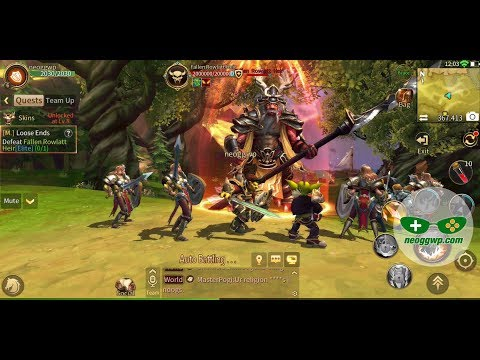 MT4-Lost Honor (Android iOS APK) - MMORPG Gameplay, Warrior Lv.1-7