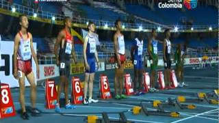 陸上世界ユース選手権男子100m サニブラウン・アブデル・ハキーム(日本) CR 10.28