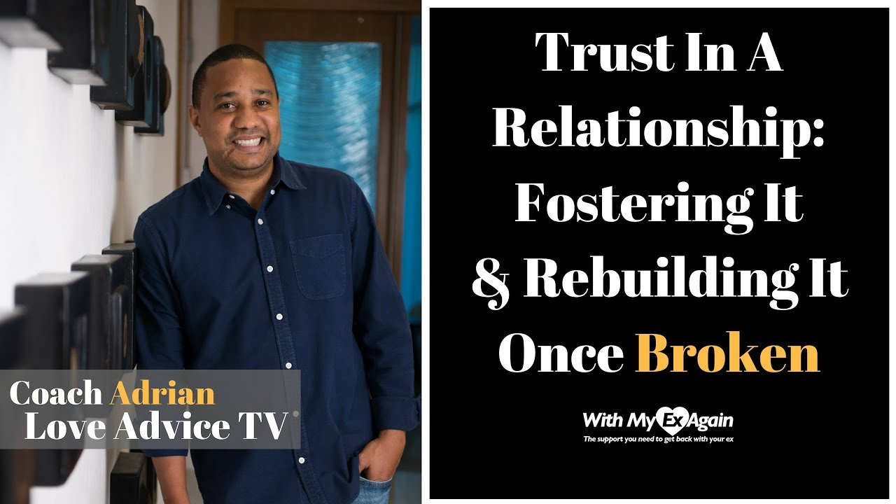 how to rebuild trust in a relationship again