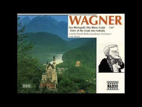 WAGNER - Entry of the Gods into Valhalla (Czecho-Slovak Radio Symphony Orchestra - Uwe Mund)