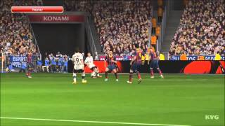 PES 2014 - FC Bayern Munich  vs. FC Barcelona Gameplay [HD]