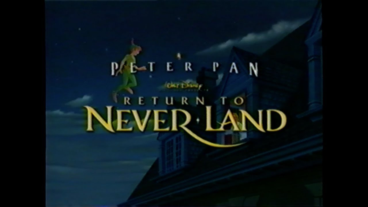 closing to peter pan return to neverland 2002 vhs