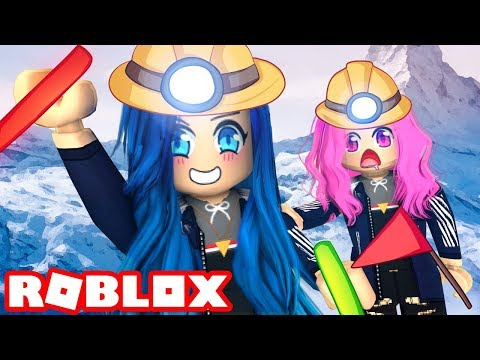 Im Trapped In A Hole For 24 Hours In Roblox Mount Everest Can We Make It To The Top In Roblox Mount Everest Youtube