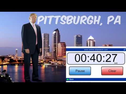 LIVE Stream: Donald Trump Rally from Pittsburgh PA (4 13 16) Hello again TRUMP supporters
