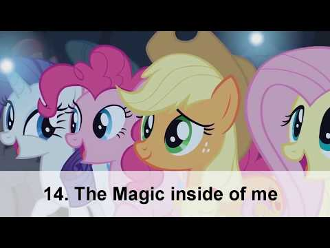 """Top 20 Songs from """"My little Pony"""" (Season 1-7/Movie)"""