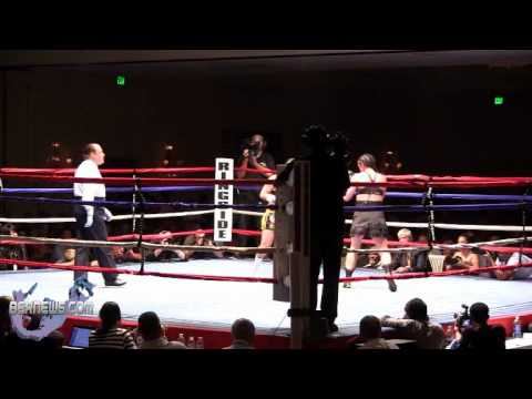 Jennifer Bolivian Queen Salinas vs Karen Dulin Rounds 3-4, Oct 13 2012