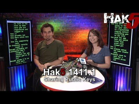 Hak5 1411.1, Sharing Public Keys