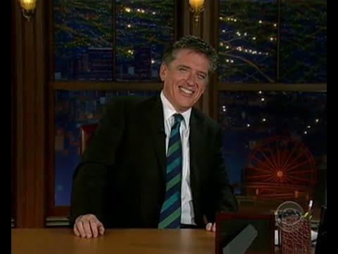Late Late Show with Craig Ferguson 3/7/2008 Wanda Sykes, Saffron Burrows, Grizzly Bear