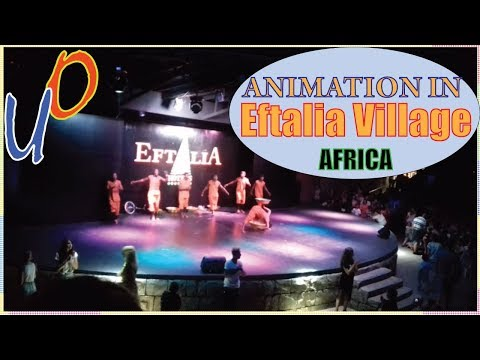 Eftalia Village 5* - Africa acrobats animation / Анимация в