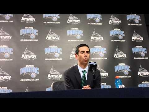 James Borrego Philadelphia 76ers Postgame Interview