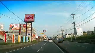 R254川越街道~東松山バイパスなどを走る
