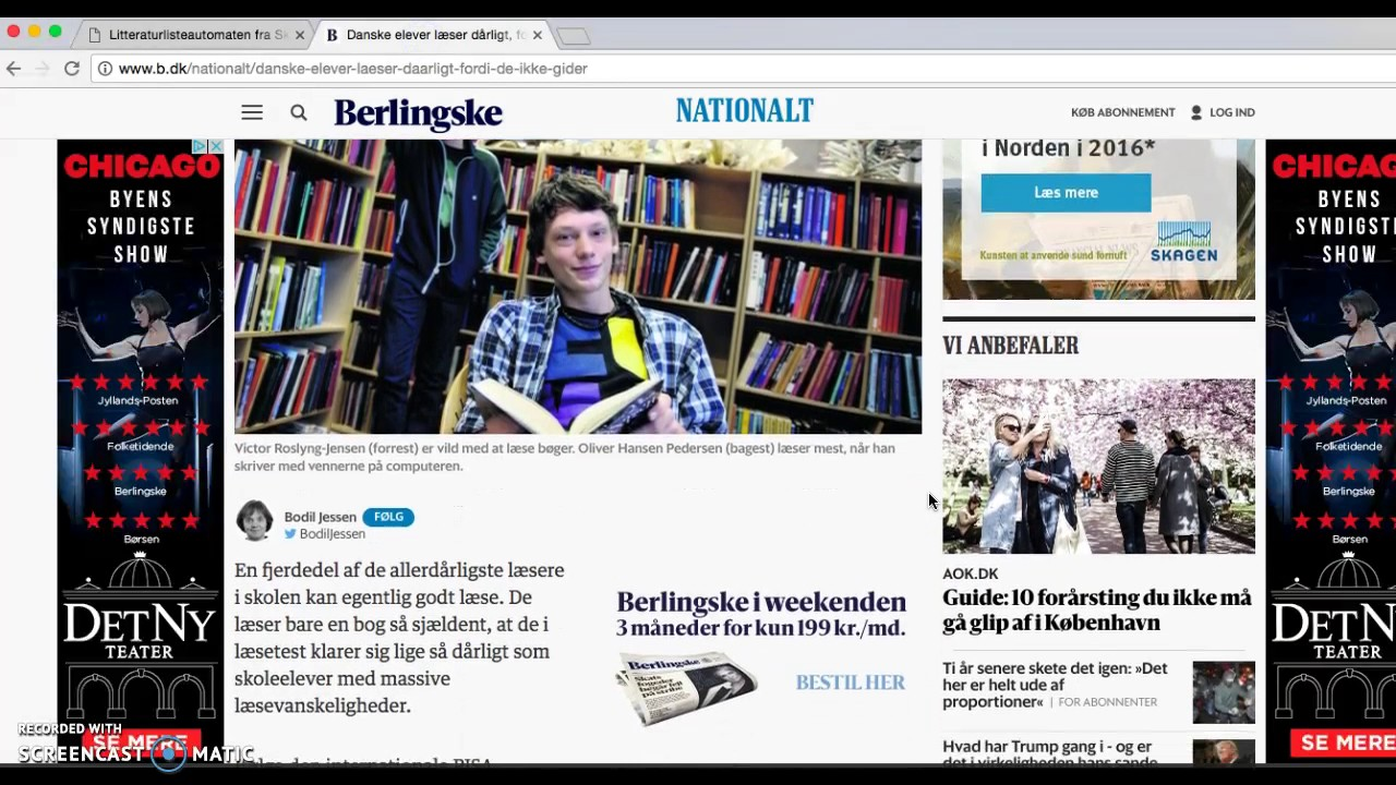Kildehenvisning i dansk, skriftlig fremstilling