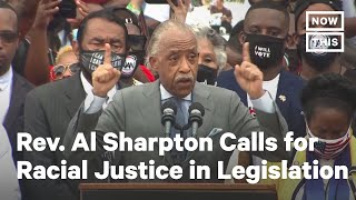 Rev. Al Sharpton Calls on Senate to Pass George Floyd Justice in Policing Act | NowThis