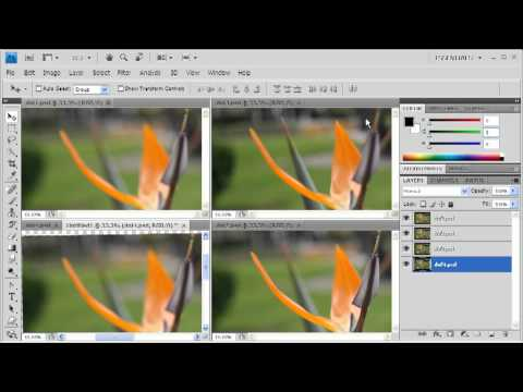 how to add depth of field in photoshop phlearn