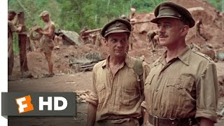 The Bridge On The River Kwai (4/8) Movie CLIP - A Lot To Learn About The Army (1957) HD