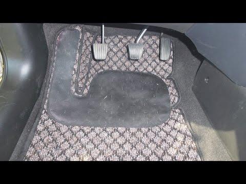Ковры в авто своими руками