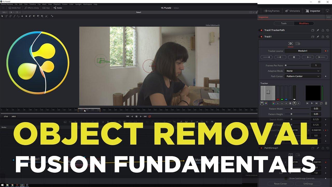Download Object Removal/Clone Stamping! Davinci Resolve 15 Fusion Fundamentals Tutorial