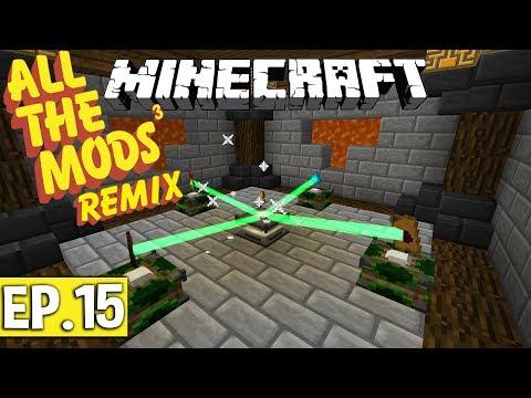 AUTOMATISATION DES EMPOWERER ! | Minecraft Moddé - All The Mods 3 Remix | Ep# 15