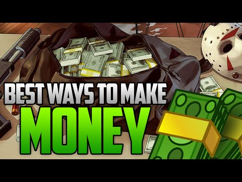 GTA 5 Online – Best Ways To Make Money Online! Fast & Easy Money Methods