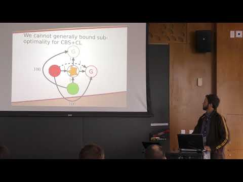 ICAPS 2017: Using Hierarchical Constraints to Avoid Conflicts in Multi-Agent Pathfinding