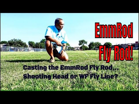 Casting The EmmRod Fly Rod With A Shooting Head Or WF Fly Line #emmrod