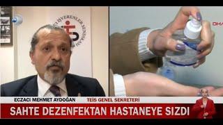 2021-03-18 - TEİS - KanalD - Sahte Dezenfektan Haberi - Ecz Mehmet Aydoğan