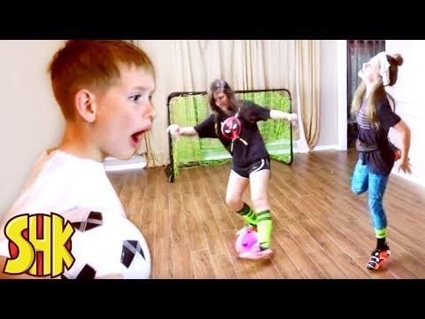 Super Soccer Skills Trick Shot Shoes!