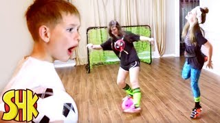 Super Soccer Skills Trick Shot Shoes!
