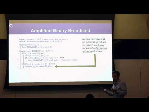 SF Bitcoin Devs Seminar: Asynchronous Byzantine Consensus for Decentralized Networks