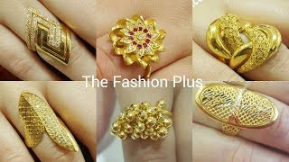 Latest Design's Of Gold Rings