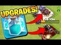 UPGRADING THE QUEEN AND GRAND WARDEN WITH CLONED LALO! - Clash of Clans