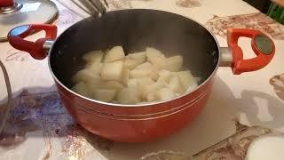 بطاطا لبوغي جميع من كلاها عندي سقساني على الوصفة ر(اخف عصيدة البطاطا بلخلاص الكهربائي)