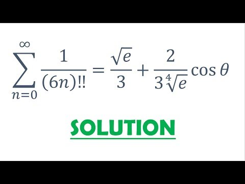 Solution 86: Double Factorial And Roots Of Unity Filter (Proof)