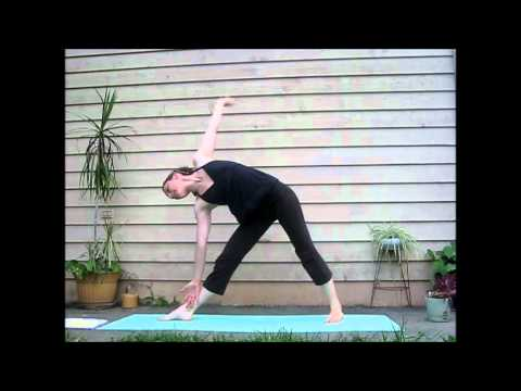 YOGA: Moon Salutation - LauraGYOGA Version of Chandra Namaskar)