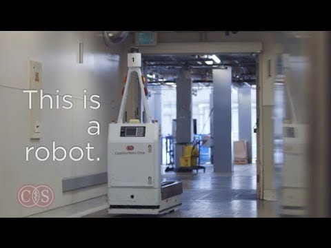 Robots Deliver Lifesaving Medical Supplies | Cedars-Sinai