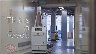 Robots Deliver Lifesaving Medical Supplies | Cedars-Sinai