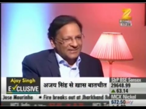 Zee Business A Dialogue With Mr  Ajay Singh Chairman & MD, Spicejet