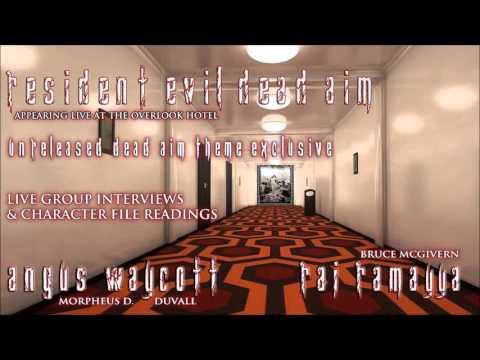 Resident Evil Podcast Raj Ramayya Angus Waycott & Michelle Ruff
