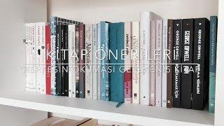 KİTAP ÖNERİLERİ : Herkesin  Mutlaka Okuması Gereken 5 Kitap..!!