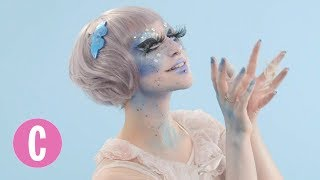This IRL Doll Transforms Herself Into a Literal Ice Queen | Cosmopolitan