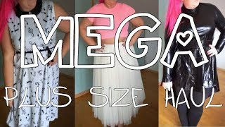 MEGA try on HAUL | Rosegal, Twinkledeals, Romwe, Shein | PLUS SIZE FASHION