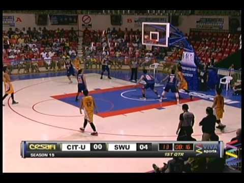 CIT-U Wildcats vs. SWU Cobras 1st Quarter