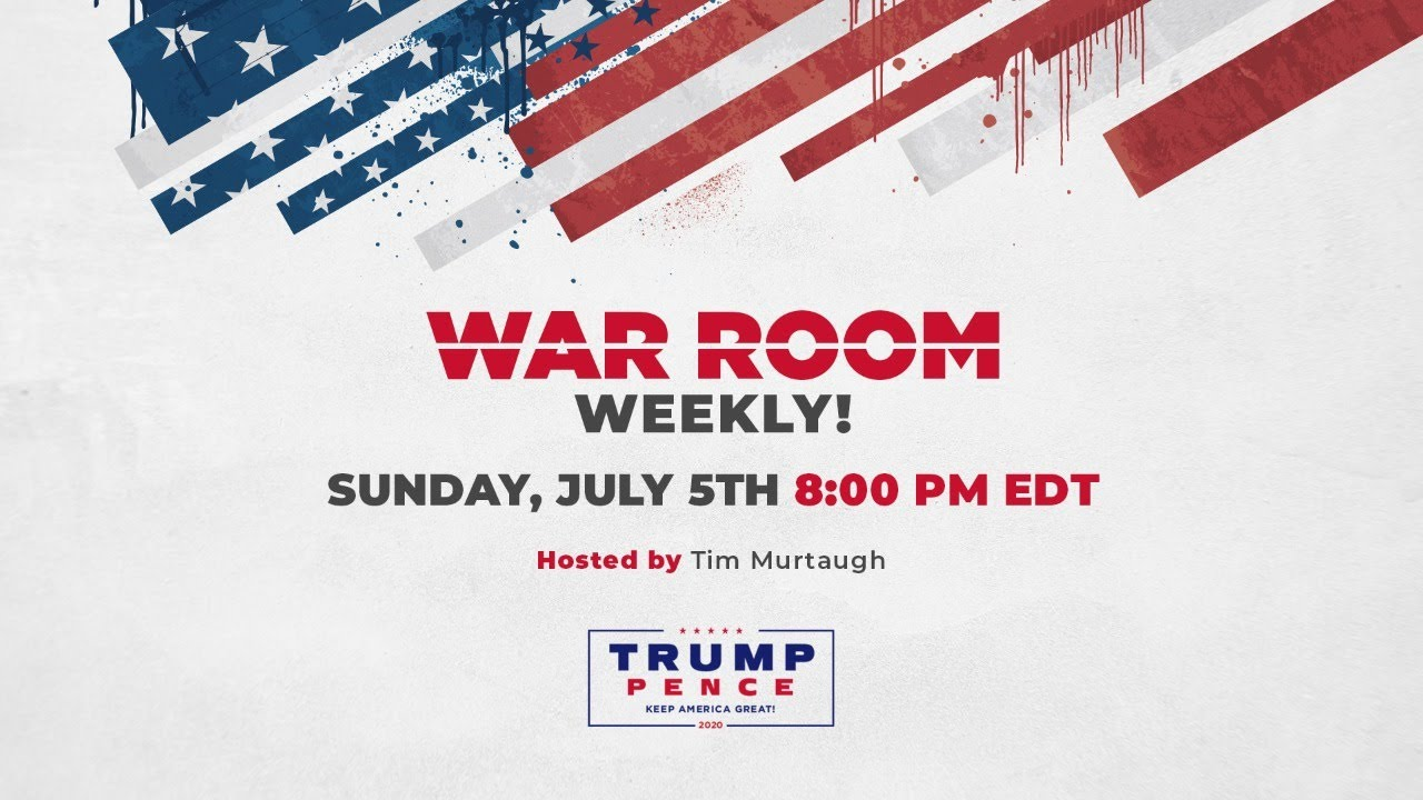WATCH: War Room Weekly with Tim Murtaugh, Matt Whitaker, and Mike Davis!
