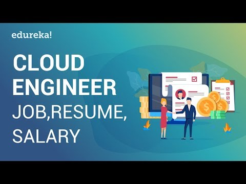 Cloud Engineer Jobs, Resume & Salary | Cloud Engineer Salary Report | Cloud Training | Edureka