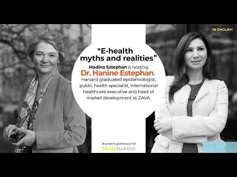 Babel Wednesday. E-health myth and realities with Dr. Madina Estephan and Dr. Hanine Estephan