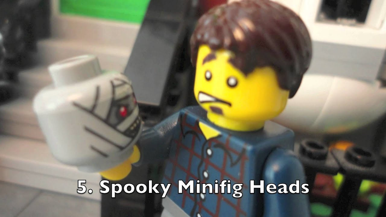 how to decorate a lego house for halloween youtube