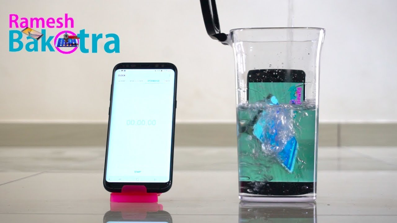 newest 32a6b 78db9 Moto X4 Water Test