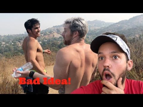 ILLEGAL HIKING IN LOS ANGELES!!
