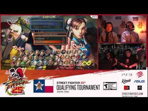 [SSF4] SF25th Anniversary Tournament - Austin TX Qualifier Top 8