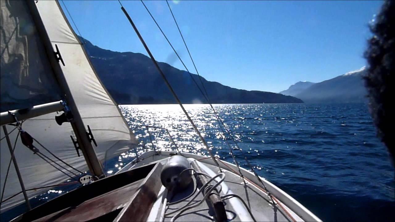 Souvent Barca a vela Superjet - YouTube GJ94